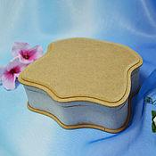 Материалы для творчества handmade. Livemaster - original item Masquerade box with medallion, blank for painting. Handmade.