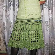 Одежда ручной работы. Ярмарка Мастеров - ручная работа Юбка зеленая. Handmade.