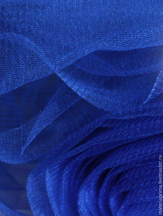 Шитье ручной работы. Ярмарка Мастеров - ручная работа. Купить фатин синий классический. Handmade. Фатин синий, фатин ткань