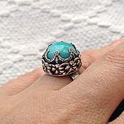 "Украшения handmade. Livemaster - original item Silver ring ""Number One"". Handmade."
