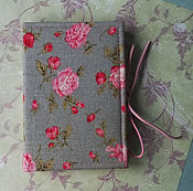Канцелярские товары ручной работы. Ярмарка Мастеров - ручная работа Розовые цветы. Handmade.