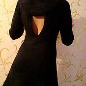 Одежда handmade. Livemaster - original item Knitted dress with cutout. Handmade.