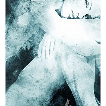 Картины и панно ручной работы. Ярмарка Мастеров - ручная работа Когда ее взгляд направлен на тебя...... Handmade.