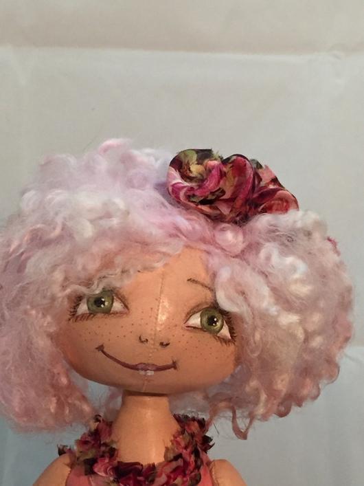 Коллекционные куклы ручной работы. Ярмарка Мастеров - ручная работа. Купить Ну возьмите меня в балет! ( кукла - тыквоголовка). Handmade.