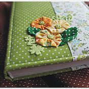 """Канцелярские товары ручной работы. Ярмарка Мастеров - ручная работа """"Весна""""  блокнот для девушки. Handmade."""