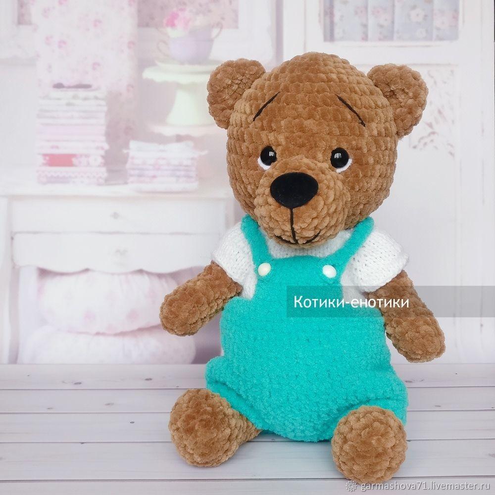 Плюшевый мишка в одежде, Мягкие игрушки, Тула,  Фото №1