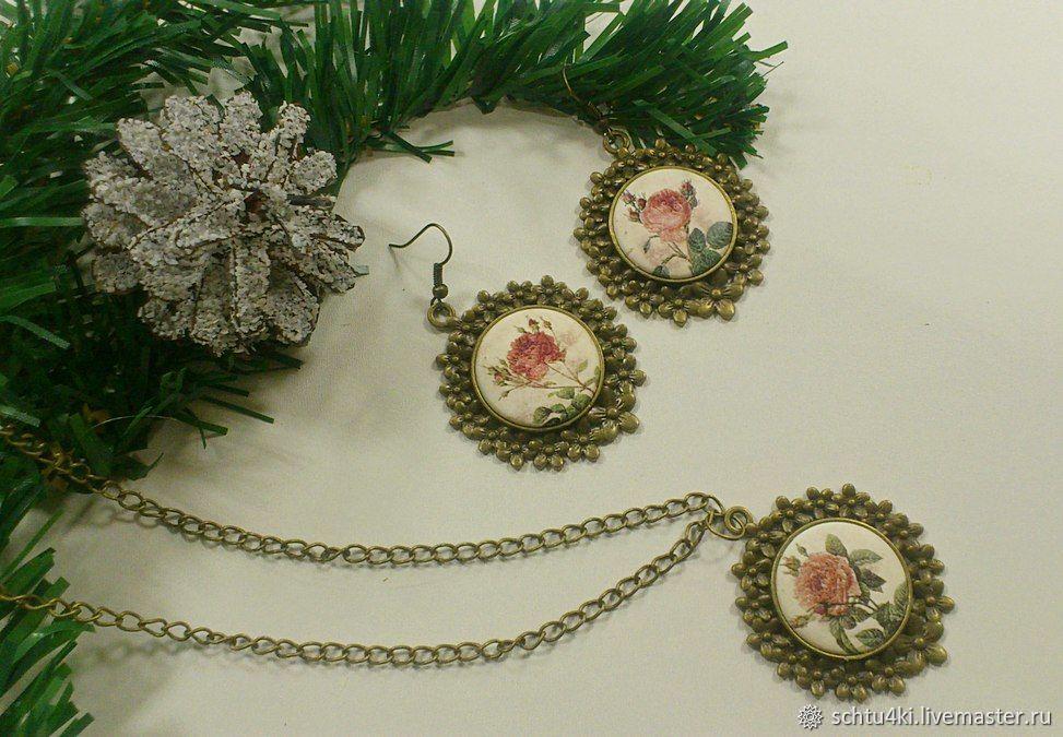 Jewelry sets: Vintage roses, Jewelry Sets, Yaroslavl,  Фото №1
