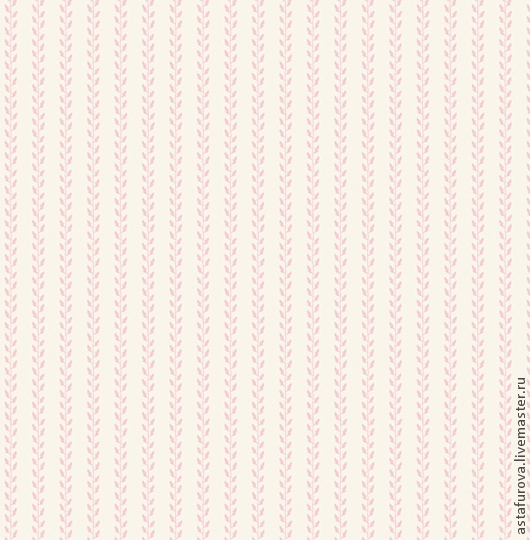 Шитье ручной работы. Ярмарка Мастеров - ручная работа. Купить Tilda  ЛИСТЬЯ РОЗОВЫЕ арт.480646. Handmade. Ткань для кукол