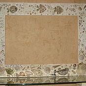"Зеркала ручной работы. Ярмарка Мастеров - ручная работа Рама для зеркала ""Морское дно"". Handmade."