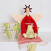 Куклы и игрушки ручной работы. Ярмарка Мастеров - ручная работа Фруктовый ангел. Handmade.