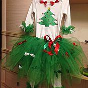 Работы для детей, ручной работы. Ярмарка Мастеров - ручная работа Детский костюм елочки. Handmade.