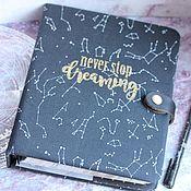 Канцелярские товары handmade. Livemaster - original item Diary Dream. Handmade.
