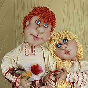"""Куклы и игрушки ручной работы. Ярмарка Мастеров - ручная работа Куклы """" У плетня"""". Handmade."""