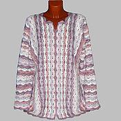 Одежда ручной работы. Ярмарка Мастеров - ручная работа Толстовка из хлопка. Handmade.