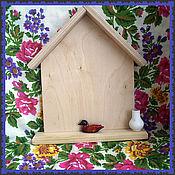 Для дома и интерьера ручной работы. Ярмарка Мастеров - ручная работа Вешалка - ключница с полочкой. Handmade.