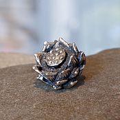 Материалы для творчества handmade. Livemaster - original item Lotus flower charm. Handmade.