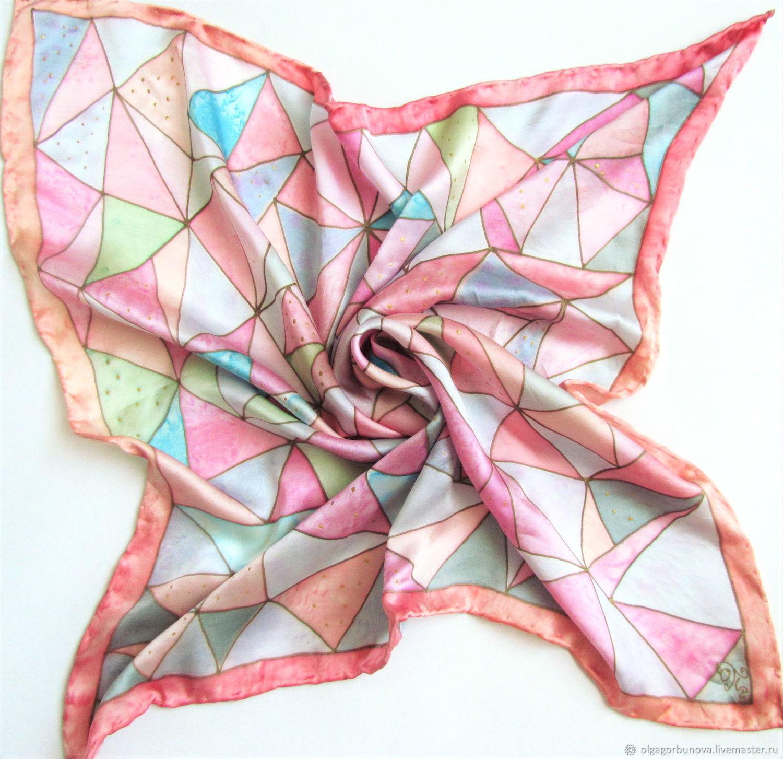 Batik handkerchief ' Fruit ice', Shawls1, Yaroslavl,  Фото №1