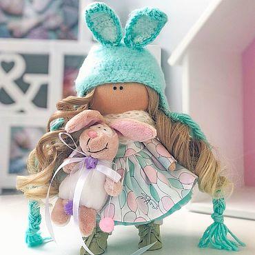 Куклы и игрушки ручной работы. Ярмарка Мастеров - ручная работа Текстильная Кукла. Интерьерная Кукла. Тильда. Handmade.