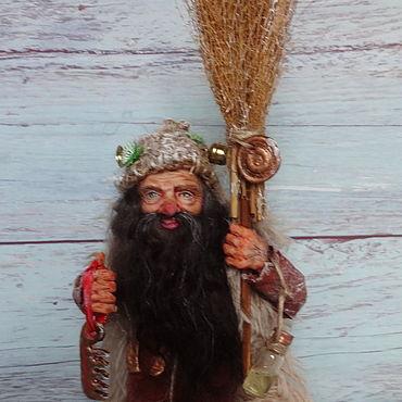 Куклы и игрушки ручной работы. Ярмарка Мастеров - ручная работа Куклы: Домовой-дворовой. Handmade.