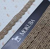 Металлизированная тесьма Mokuba(61706), 12мм