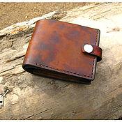 Сумки и аксессуары handmade. Livemaster - original item Wallet mens leather. Handmade.