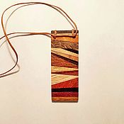 Украшения handmade. Livemaster - original item Pendant made of precious wood Dawn decoration of wood boho. Handmade.