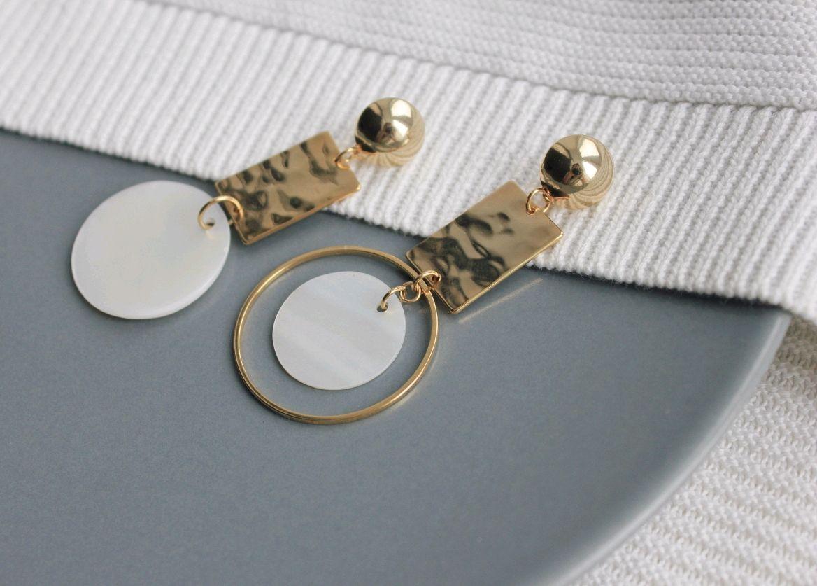 Asymmetrical earrings, Earrings, Ufa,  Фото №1