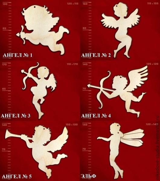 Декупаж и роспись ручной работы. Ярмарка Мастеров - ручная работа. Купить (6 видов) Ангел - заготовка для творчества. Handmade.