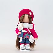 Куклы и игрушки handmade. Livemaster - original item Textile interior doll Baby. Handmade.