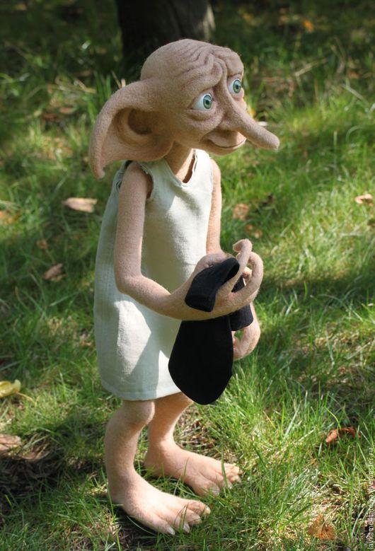 Коллекционные куклы ручной работы. Ярмарка Мастеров - ручная работа. Купить Добби, домашний эльф. Handmade. Добби, домашний эльф