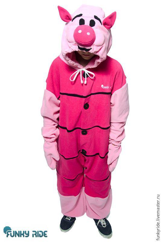 Carnival Costumes handmade. Livemaster - handmade. Buy Costume kigurumi Piglet Piglet PIGLET KIGU.Kigurumi