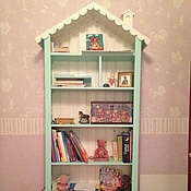 Для дома и интерьера handmade. Livemaster - original item 6. The book cupboard in the nursery for children. Handmade.