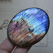 Материалы для творчества handmade. Livemaster - original item Labradorite. Cabochon 69,5 X 53,5 X 7,5. Handmade.