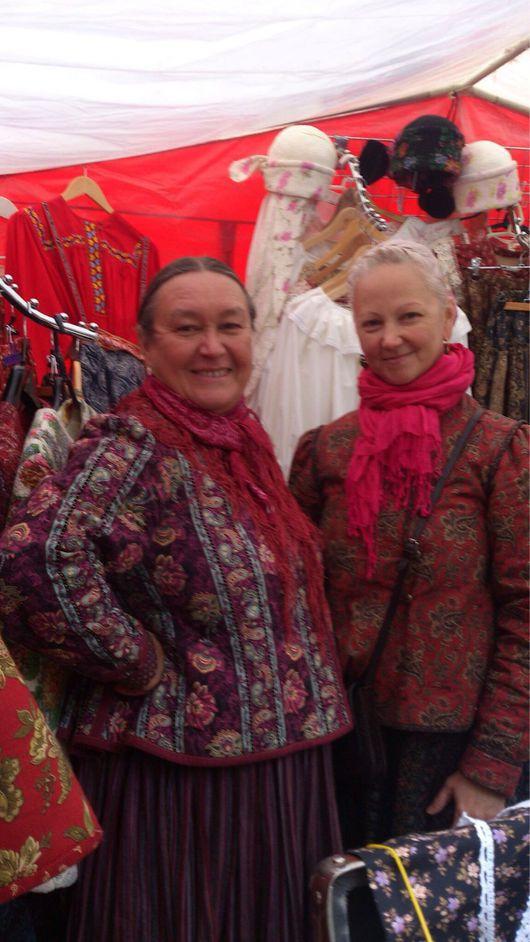 Этническая одежда ручной работы. Ярмарка Мастеров - ручная работа. Купить Шугай. Handmade. Ярко-красный, мода, баска, жакет