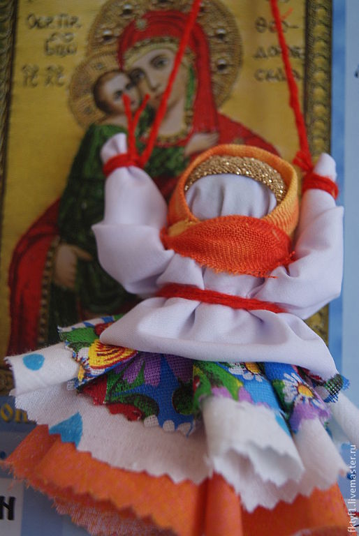 """Народные куклы ручной работы. Ярмарка Мастеров - ручная работа. Купить Куколка """"Колокольчик"""" добрых вестей. Handmade. Народная кукла"""