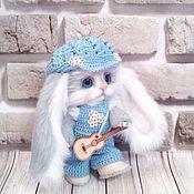 Куклы и игрушки ручной работы. Ярмарка Мастеров - ручная работа зайка гитарист. Handmade.
