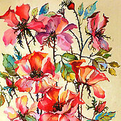 Картины и панно handmade. Livemaster - original item Picture of a rose