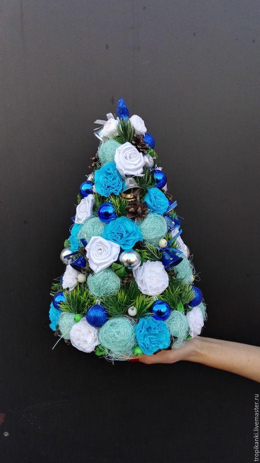 Топиарии ручной работы. Ярмарка Мастеров - ручная работа. Купить Новогодняя  Елка от Цветnique. Handmade. Комбинированный, букет в подарок