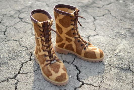 Обувь ручной работы. Женская обувь. NewVoilok. Валяные ботинки. Женские ботинки. Стильные женские ботинки.