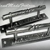 Для дома и интерьера ручной работы. Ярмарка Мастеров - ручная работа Дверные ручки, художественная ковка, кованные ручки. Handmade.