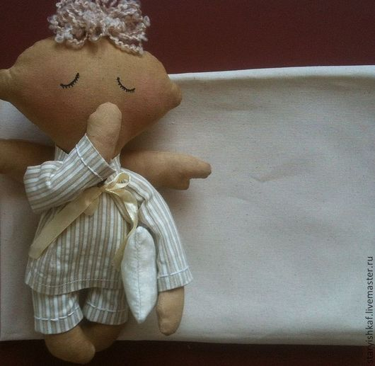 Шитье ручной работы. Ярмарка Мастеров - ручная работа. Купить Ткань для тела кукол - 2 вида. Handmade. Белый