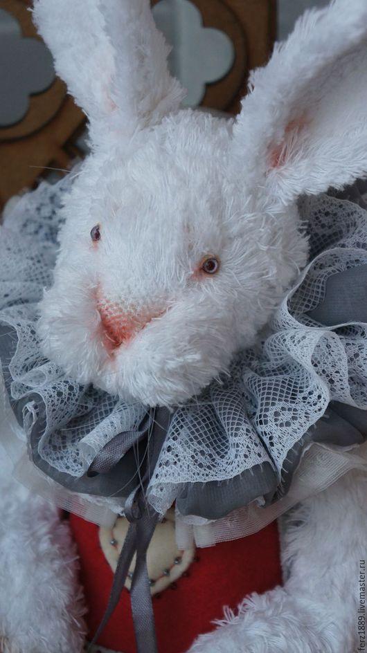 Мишки Тедди ручной работы. Ярмарка Мастеров - ручная работа. Купить за белым кроликом. Handmade. Мишки тедди, белый