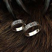 Русский стиль handmade. Livemaster - original item Wedding ring. Handmade.
