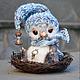 """Мишки Тедди ручной работы. Ярмарка Мастеров - ручная работа. Купить """"Малыши"""":) Сэм. Handmade. 8 марта, серый, волшебство"""