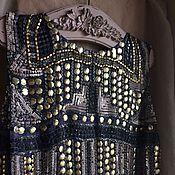 Одежда ручной работы. Ярмарка Мастеров - ручная работа Платье 2100 Шик и блеск... Handmade.