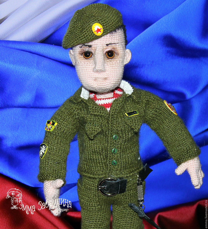 Спецназовец, Схемы для вязания, Челябинск,  Фото №1