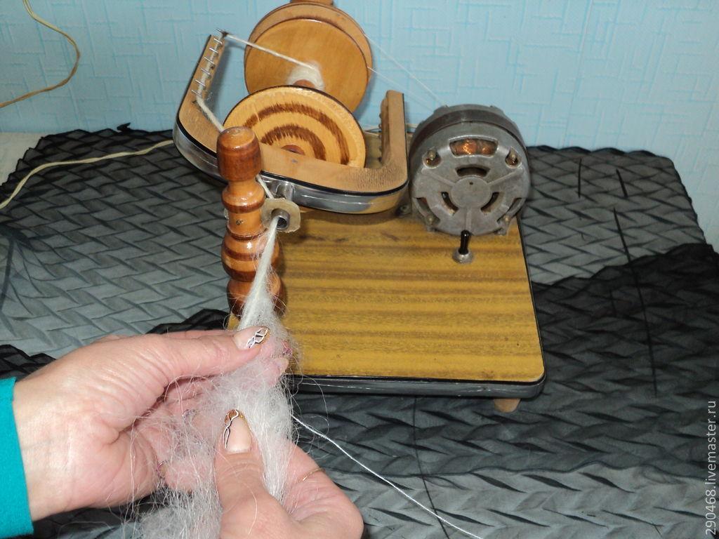 Как сделать нить на прялке