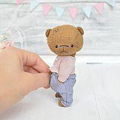 Куклы и игрушки ручной работы. Ярмарка Мастеров - ручная работа мишка тедди Джерри. Handmade.