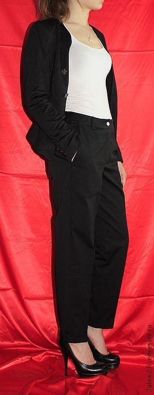 Брюки, шорты ручной работы. Ярмарка Мастеров - ручная работа. Купить брюки хлопковые. Handmade. Черный, распродажа