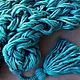 Шарфы и шарфики ручной работы. Ярмарка Мастеров - ручная работа. Купить Вязаный шарф-снуд Изумруд. Handmade. Бохо, снуд